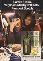 # PASSPORT SCOTCH SEAGRAM's 1960s Advert Pubblicità Publicitè Reklame Whisky Drink Liquor Liquore Liqueur Licor Bebidas - Posters