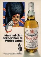 # WHITE LABEL DEWAR´s 1960s Advert Pubblicità Publicitè Reklame Whisky Drink Liquor Liquore Liqueur Licor Bebidas - Posters