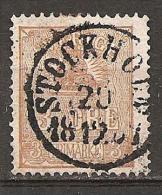 Schweden - Alte Briefmarke ??? - Non Classificati