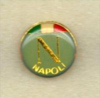 Napoli Calcio Distintivi FootBall Soccer Pins Napoli Italy Campania Pin - Calcio