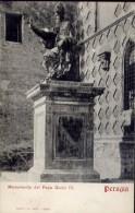 Perugia - Monumento Del Papa Giulio III - Formato Piccolo Non Viaggiata - Perugia