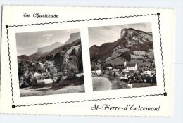 (F94) - SAINT-PIERRE-D'ENTREMONT, VUE SUR LA ROCHE VERAN ET LE MONT GRANIER - Saint-Pierre-d'Entremont