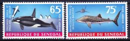 SENEGAL POSTE AERIENNE 1973 YT N° PA 126 Et PA 127 ** - Sénégal (1960-...)
