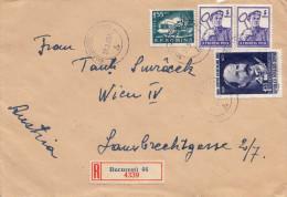 RUMÄNIEN 1960 - 4 Fach Frankierung Auf R-Brief - 1948-.... Republiken