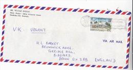 1977 Air Mail BERMUDACOVER From  MUSIC MASTER SALTUS GRAMMAR SCHOOL   Stamps  Upu - Bermuda