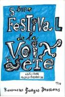Rencontres BRASSENS  1999 5ème Festival De La Voix SETE CPM - Muziek En Musicus