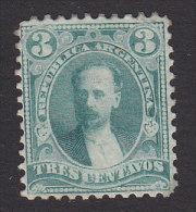 Argentina, Scott #70, Mint Hinged, Miguel Juarez Celman, Issued 1888 - Argentina