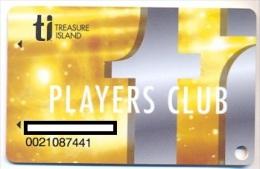 Treasure Island Resort & Casino, Las Vegas, NV,  U.S.A., older used slot card, treasureisland-3