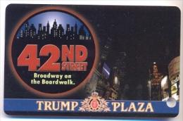 Trump Plaza Casino, Atlantic City, NJ, U.S.A.  used slot or players card, trump-46  LIMITED EDITION