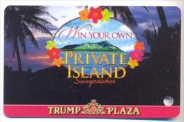 Trump Plaza Casino, Atlantic City, NJ, U.S.A.  used slot or players card, trump-45  LIMITED EDITION