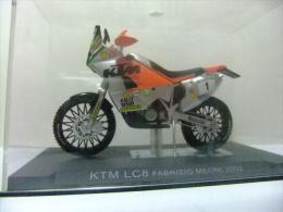 MOTO KTM LC8 FABRIZIO MEONI CON SU CAJA ORIGINAL - Motos