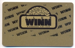 Winnavegas Casino, Sloan, IA, U.S.A. older used BLANK slot or player�s card, winnavegas-1blank