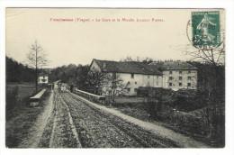 VOSGES  /  FREMIFONTAINE  /  LA  GARE  ET  LE  MOULIN  JACQUOT  PIERRE - Other Municipalities