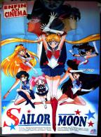Affiche Française De Cinéma 1993 > 120 X 160 Cm > Film D'animation SAILOR MOON (KUNIHIKO IKUHARA), Studio TOEI - Affiches & Posters