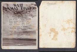 South Africa: 1945 WAAF XMAS DINNER 24 AIR SCHOOL NIGEL - Menus
