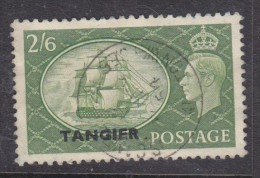 Morocco Agencies, TANGIER Opt On GB GVIR 2/6, C.d.s Used In Britain 1954 - Morocco Agencies / Tangier (...-1958)