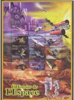 Burundi COB BL141 History Of Space 2000 MNH
