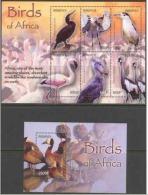 Burundi - Bloc 146 & 147 - Oiseaux - 2004 - MNH