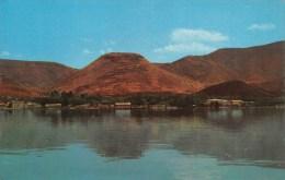 "01860 ""KIBUTZ EIN GEV - ON THE LAKE OF GALILEE"". CART. ILLUSTR. ORIG. NON SPED. - Israele"