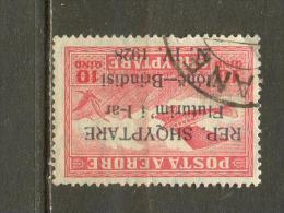 Imbres Aériens De 1925 Surchargés. - Albanie