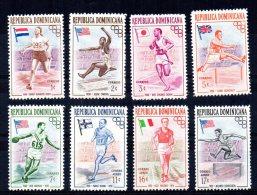 Dominican Republic - 1957 - Olympic Games (1st Series) - MNH - Dominicaine (République)