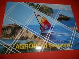 B623 Agropoli Salerno Souvenir Viagg.pieghina Angolo - Italia