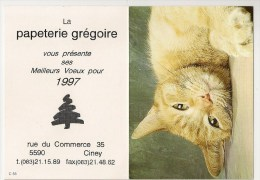 3 Calendriers (1x1997; 2x1998) Papeterie Grégoire Et Bois Delvaux à Ciney. - Petit Format : 1991-00