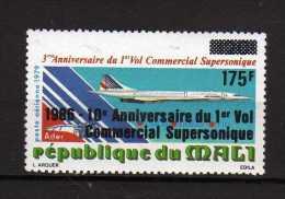 MALI **  -1986 - PA.  1° Vol Commercial Supersonique.  Yvert  520 - Mali (1959-...)