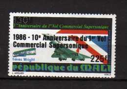 MALI **  -1986 - PA.  1° Vol Commercial Supersonique.  Yvert  521 - Mali (1959-...)