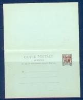 CANTON ENTIER POSTAL TYPE GROUPE 10c AVEC REPONSE PAYEE NEUF TTB - Briefe U. Dokumente