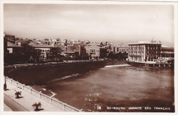 LIBAN.  BEYROUTH. N 78 AVENUE DES FRANCAIS