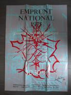 Affiche de  Banque : Emprunt National 1975 Mathieu Georges