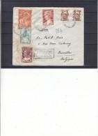 Idées Européennes - Familles Royales - Grèce - Lettre Recommandée De 1956 ° - Oblitération Athènes - Griechenland