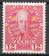 austria   scott no.  116a     mnh   year  1908