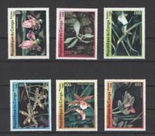 Congo Rep. Du 1999, Michel Cat. 1663-1668, MNH/Orchids - Orchideeën