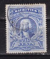 MAURICE - N°Y&T - 98 - 15 C Outremer -Bicentenaire Amiral De La Bourdonnais  -  Oblit Cad - Maurice (1968-...)