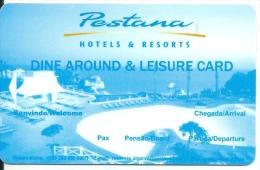HOTEL PESTANA PORTUGAL, llave clef key keycard karte