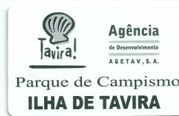 HOTEL CAMPING ILHA DE TAVIRA PORTUGAL, llave clef key keycard karte