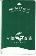 HOTEL VILA GALE PORTUGAL, TOTTA IN REVERSE llave clef key keycard karte