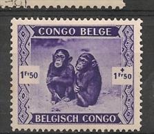 CONGO BELGE 210 MH * - Belgian Congo