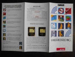 België Belgium - Folder Postzegeluitgifte: 1993 Strijd Tegen Kanker / Battle Against Cancer - Timbres