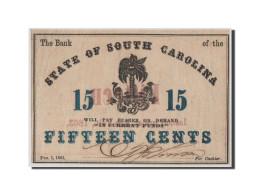 [#44711] Etats-Unis, Obsol�tes, South Carolina, State Bank, 15 Cents 1.2.1863