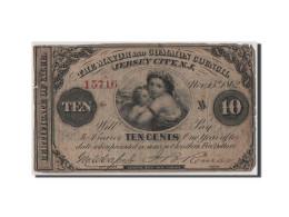 Etats-Unis, Obsolètes, New Jersey, 10 Cents 15.11.1862 - Bankbiljetten