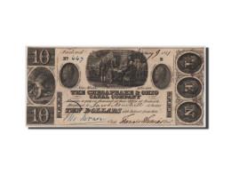 [#44807] Etats-Unis, Obsolètes, Ohio, Chesapeak Company, 10 Dollars 9.1.1841 - Ohio