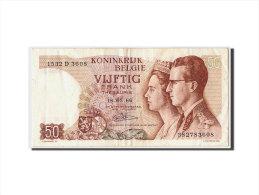 [#307136] Belgique, 50 Francs Type Baudouin Et Fabiola - [ 6] Treasury