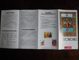 België Belgium - Folder Postzegeluitgifte: 1993 Gemeenschappelijke Uitgifte Missale Romanum - Joint Issue With Hungary - Autres Livres