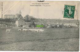 Carte Postale Ancienne De CHATENOIS – VUE GENERALE - Chatenois