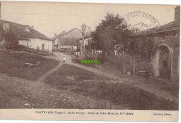 Carte Postale Ancienne De CHATENOIS – HAUT BOURG – CROIX DE ST-MARC AU Xve SIECLE - Chatenois