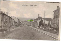 Carte Postale Ancienne De CHATENOIS – VUE DE LA GARE - Chatenois