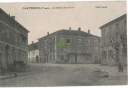 Carte Postale Ancienne De CHATENOIS – L'HOTEL DE VILLE - Chatenois